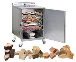 Smokin Tex 1400 Pro Deluxe Package with Smoking Wood Variety