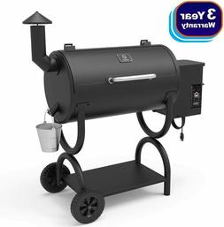 Z GRILLS 2020 Upgrade Wood Pellet Grill& Smoker 7 in 1 Elect