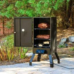 30 Analog Electric Food Smoker Cooker Oven BBQ Grill Outdoor