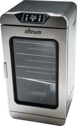 """32"""" Stainless Steel Outdoor 750W Deluxe Digital Electric Smo"""
