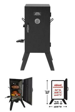 BBQ Electric Smoker Grill Outdoor Meat Cooker Wood Smoke Dig