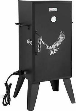 Electric Smoker Adjustable Temperature Control Cooker Barbec
