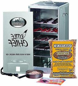 Electric Smoker Front Load Meats Fish Cooking Great Starter