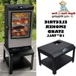 Electric Smoker Stand With Steel Construction 16.76 Lbs 23.8