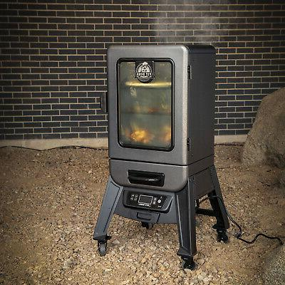 2-Series Electric Vertical Smoker Cooking BBQ Griller