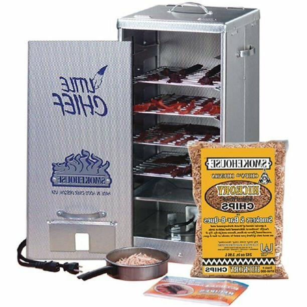 products little chief front load smoker electric