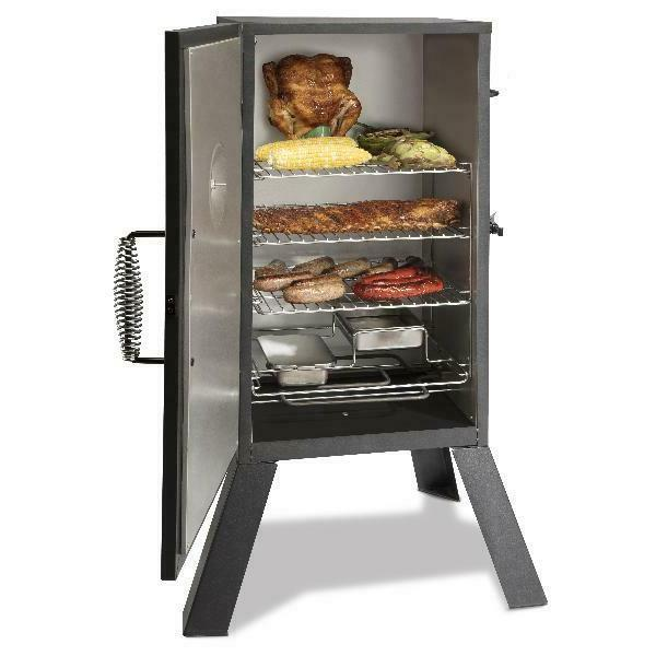 Cuisinart Electric Smoker 3 Racks 548 sq. in. Cooking Space