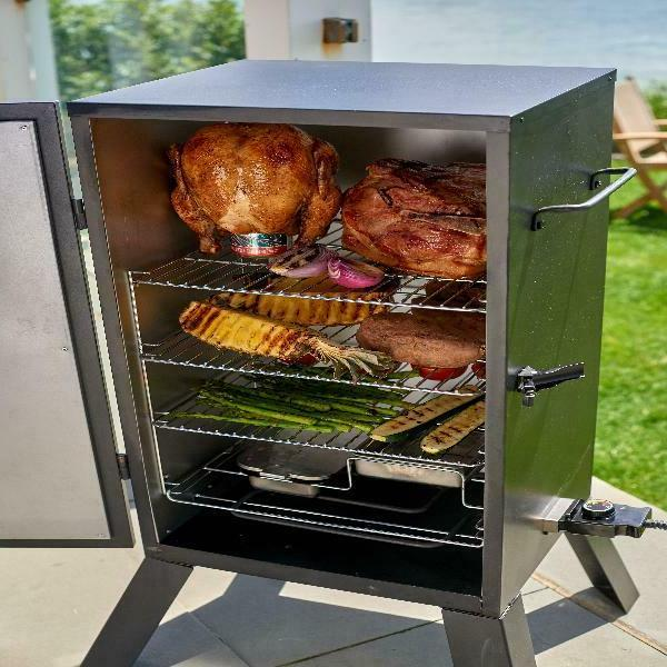 """Cuisinart 30"""" Smoker w/ 548 sq. of Cooking Space"""