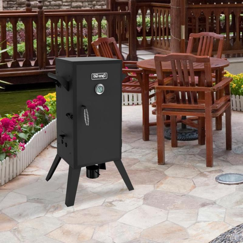 30 in. Electric Analog Outdoor 3 Adjustable Cooking