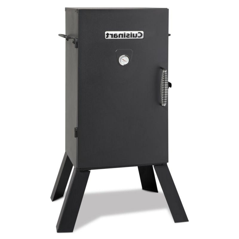 30 in electric vertical smoker
