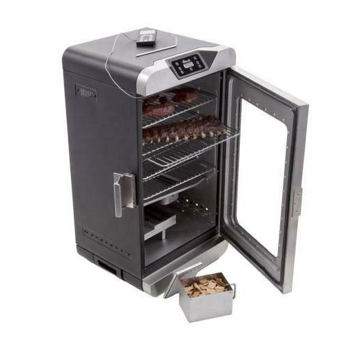 750W Deluxe Digital Electric Smoker Remote Control