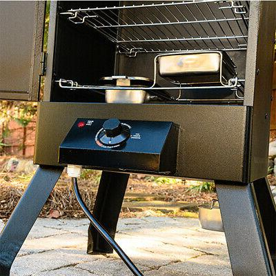 Electric Smoker Grill Food BBQ Outdoor Patio