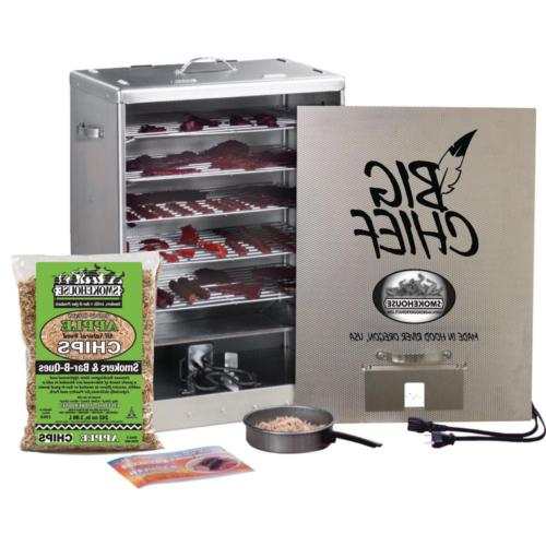 Electric Smoker Big Chief Front Load Great for Cooking Salmo