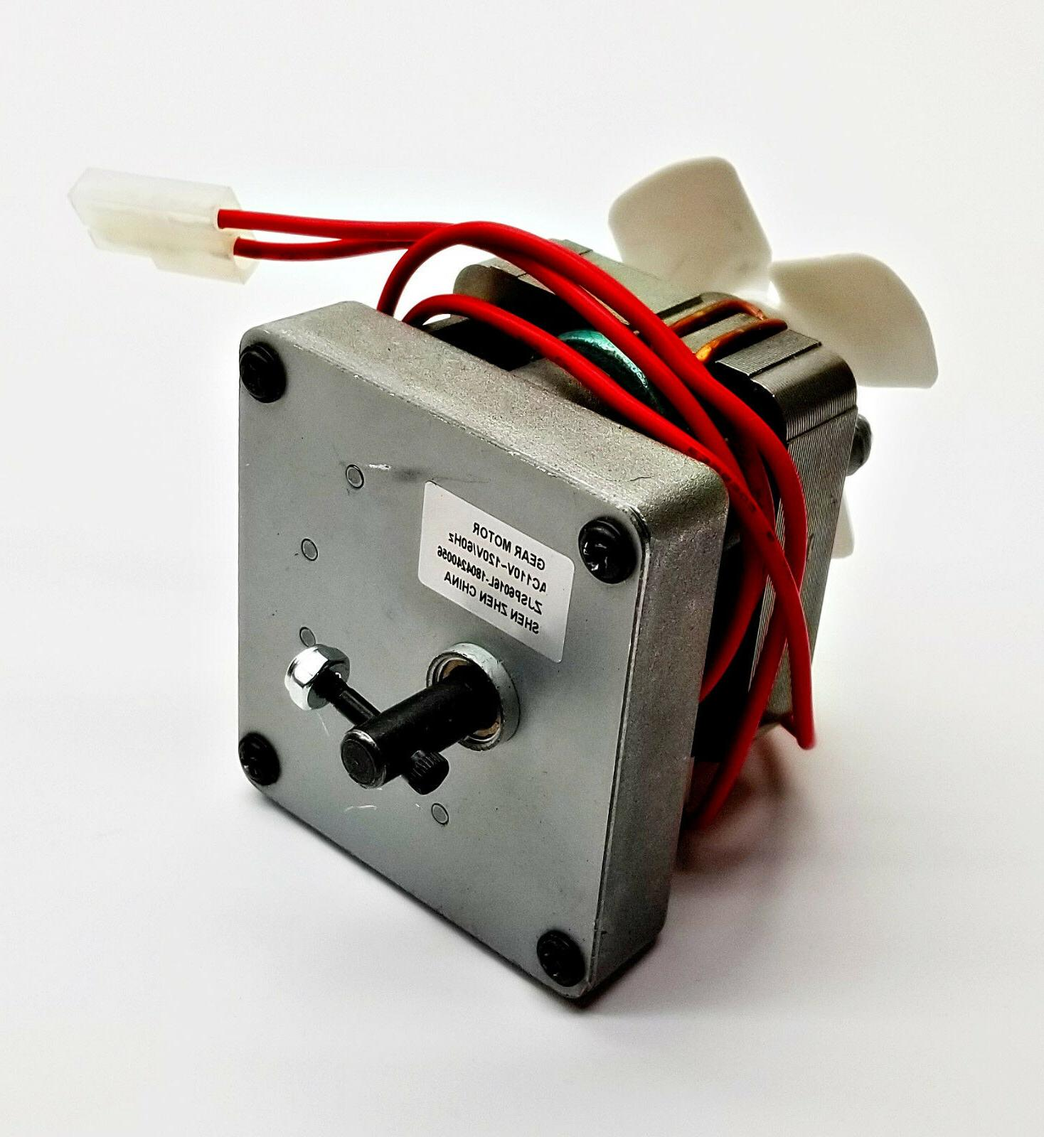 Auger Feed Fuel Motor for Camp Chef Electric Wood Pellet Smo