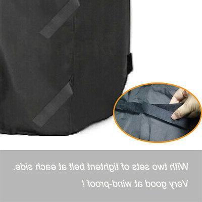 Universal Heavy Duty Barbecue Grill Cover Texas Resistant PQ5YB