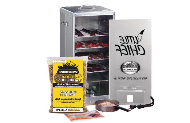 Little Smoker Front Load Vented Aluminum Cooking