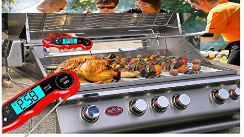 Meat Thermometer, Digital Meat Thermometer, Food Thermometer BBQ Grilling, That takes your skills next level.