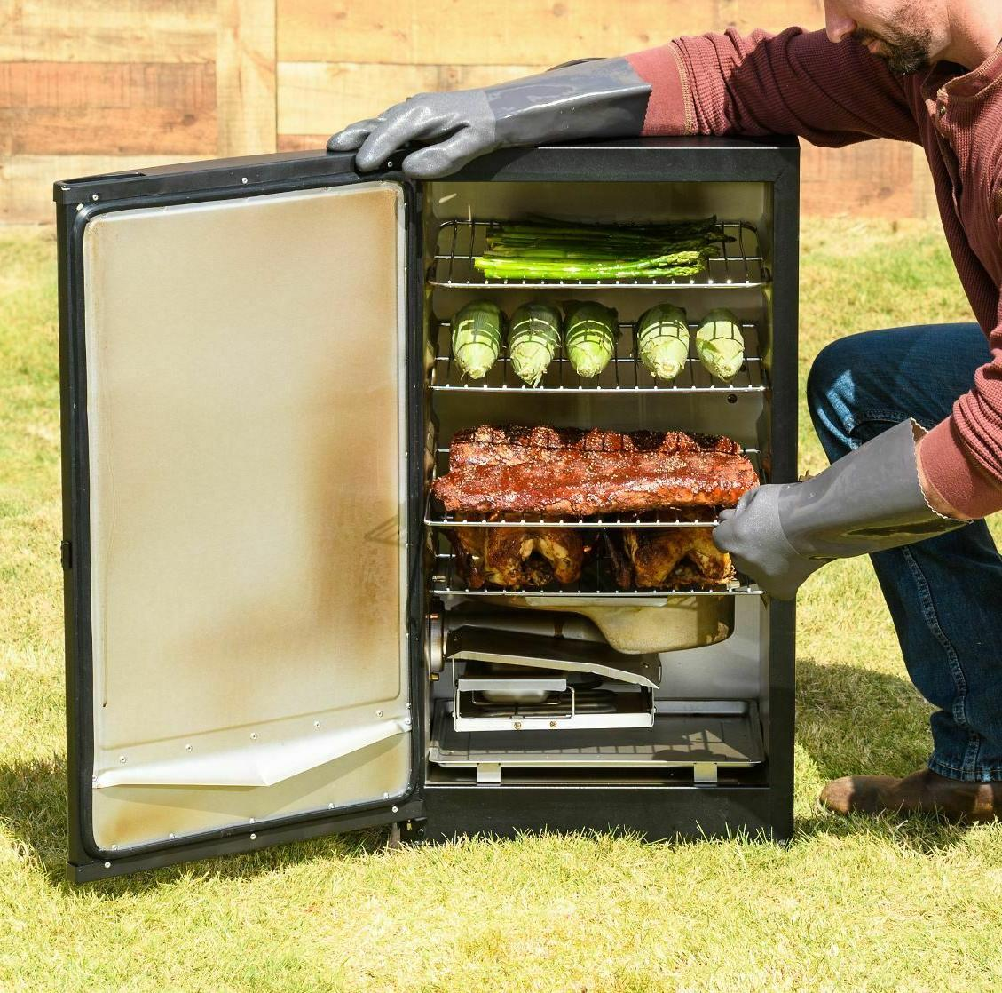 Smoker Electric Panel Loader Outdoors Black Brand New