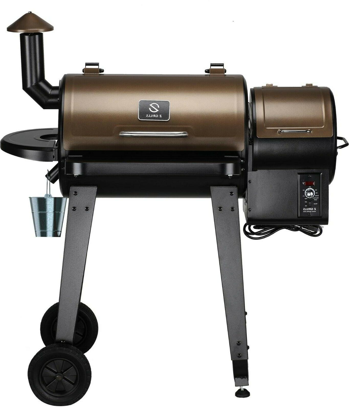 Z Barbecue And Smoker with Digital Temperature