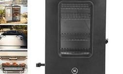MB20073519 Bluetooth Digital Electric Smoker with Broiler, 3