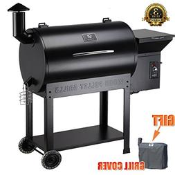 Z GRILLS Party Wood Pellet BBQ Grill & Smoker 700 Cooking Ar