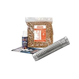 """A-MAZE-N Pellet Smoker 12-18"""" Expanding Tube with 2 lbs Pi"""