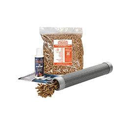 """A-MAZE-N Pellet Smoker 12"""" Tube with 2 lbs Pitmasters Choice"""