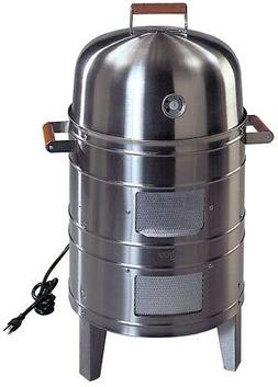 Meco Southern Country Smokers Stainless Steel 1500-Watt Elec