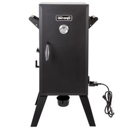 Vertical Analog Electric Smoker in Black