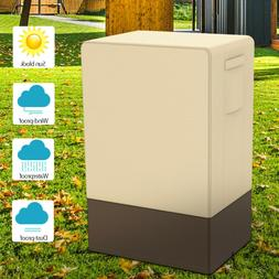 """Waterproof Electric Smoker Cover Outdoor Square 40"""" Protecto"""